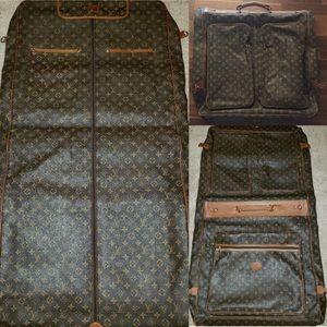 LOUIS VUITTON Garment Bag AUTHENTIC VERY RARE!